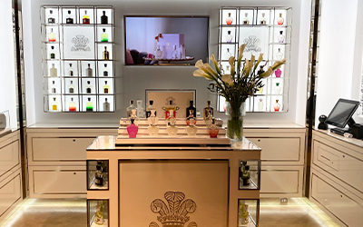 New Creed Boutique Counters